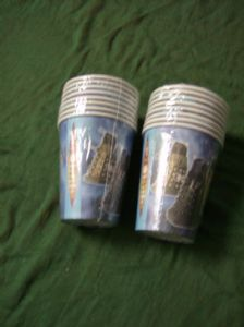 Doctor Who pack of 16 paper cups..